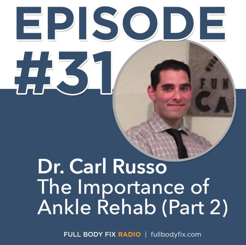 Dr. Carl Russo Ankle Rehab