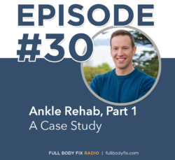 Ankle Rehab Part 1