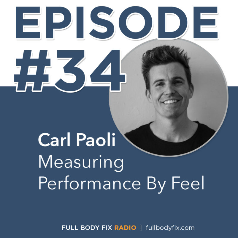 Full Body Fix Radio 34 Carl Paoli