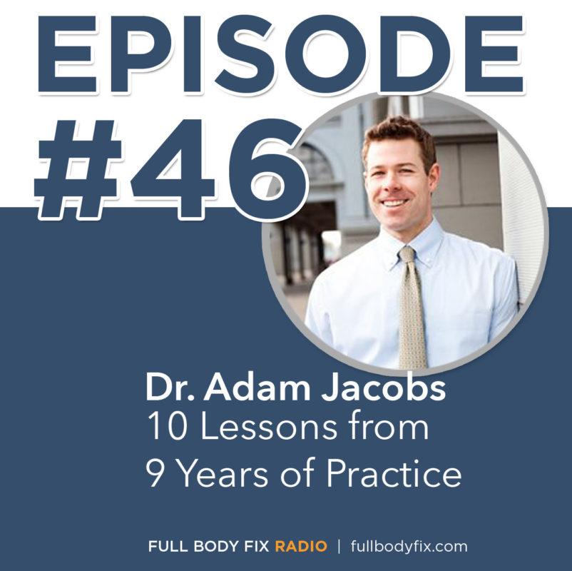 Episode 46 10 lessons Dr. Adam